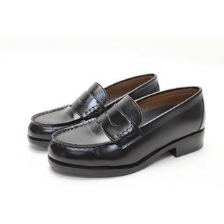 ナイスクラップ(NICE CLAUP)の73■NICE CLAUP 洗える軽量スクールローファー(22.5cm3E)美品(ローファー/革靴)