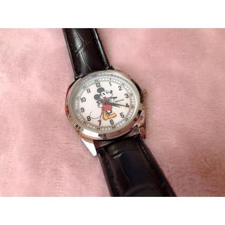 ミッキーマウス - オトナミューズ2019年7月号付録 ミッキーマウス大人の腕時計