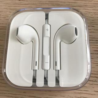 アイフォーン(iPhone)のiPhoneイヤホン iPhone6s付属品(ヘッドフォン/イヤフォン)