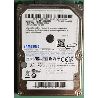 サムスン(SAMSUNG)のHDD 1TB 2.5 SAMSUNG(2189時間)(PCパーツ)