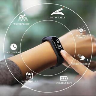 LED電子スポーツ発光センサー時計(腕時計(デジタル))