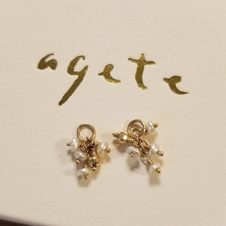 agete - agete アガット ピアスチャーム