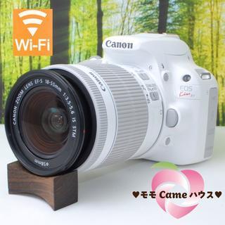 Canon - キャノン Kiss X7♪超可愛い☆真っ白一眼レフ!#106300