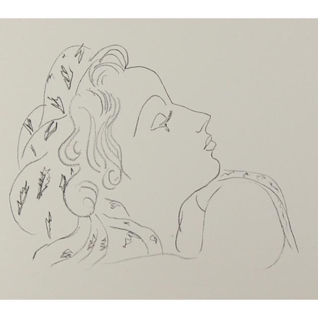 Ron Herman(ロンハーマン)の【新品未使用】Valet studio ホワイト マーブル ヘアクリップ レディースのヘアアクセサリー(バレッタ/ヘアクリップ)の商品写真