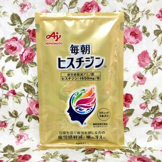 アジノモト(味の素)の味の素 毎朝ヒスチジン 3本(アミノ酸)