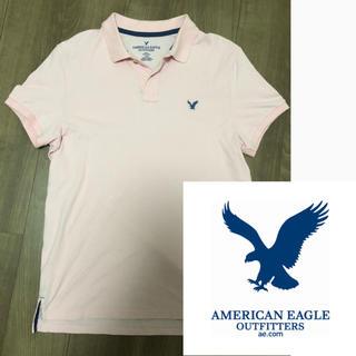 アメリカンイーグル(American Eagle)のアメリカンイーグル ポロシャツ ビックロゴ 美品 価格交渉ok(ポロシャツ)
