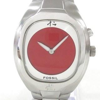 FOSSIL - フォッシル 腕時計 JR-8161 メンズ レッド