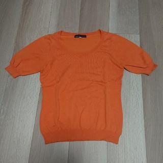 クリアインプレッション(CLEAR IMPRESSION)のクリアインプレッション 半袖ニット(ニット/セーター)