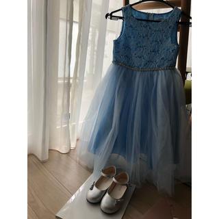 キャサリンコテージ(Catherine Cottage)のドレス(120)とシューズ(18cm)セット(ドレス/フォーマル)