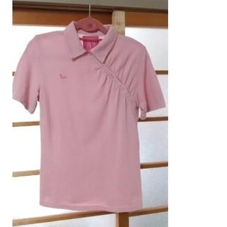 ロウロウ(ROUROU)のROUROU のワンポイント刺繍入りポロシャツ(ポロシャツ)