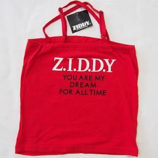 ベベ(BeBe)のZIDDY タンクトップ Z.I.D.D.Y レッド(Tシャツ/カットソー)