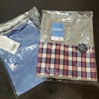 ファミリア(familiar)の新品 ファミリア Tシャツ リバーシブルハーフパンツ セット 120cm(Tシャツ/カットソー)