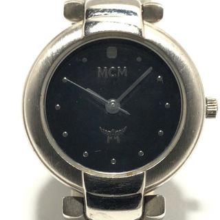 エムシーエム(MCM)のMCM(エムシーエム) 腕時計 NRII.06.XV 黒(腕時計)