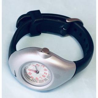 ナイキ(NIKE)のV14)人気の♡ナイキ・電池交換済み・つや消しシルバークォーツレディース(腕時計)