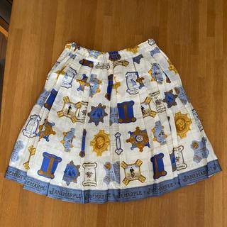ジェーンマープル(JaneMarple)のジェーンマープル Jane Marple 糸巻き柄のスカート チュール(ひざ丈スカート)