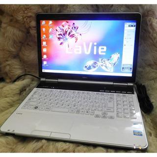 NEC - 【美品】NEC LaVie LL750/F  i7/新品SSD512GB/8GB