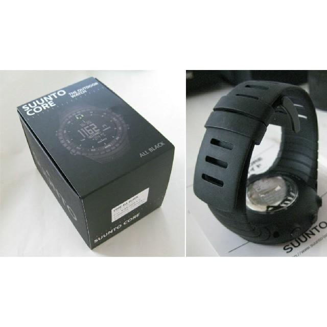 SUUNTO(スント)の☆未使用!国内正規品!送料無料!SUUNTO CORE ALL BLACK   メンズの時計(腕時計(デジタル))の商品写真