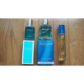 クリーン(CLEAN)の香水 SAMURAI CLEAN Blue Eyes 三個セット(ユニセックス)