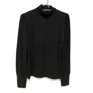 エポカ(EPOCA)のエポカ 長袖カットソー サイズ40 M 黒(カットソー(長袖/七分))