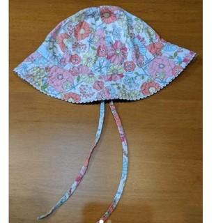 H&M - ベビー 帽子 ハット 花柄 およそ48~50cm