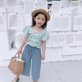 韓国子供服 韓国服 セットアップ 120