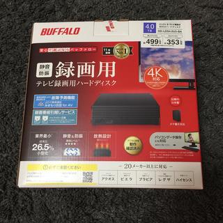 Buffalo - 【最安値】HD-LD4.0U3-BKA バッファロー外付けHDD 4TB