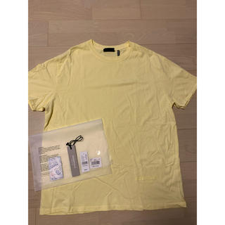 FEAR OF GOD - fear of god essentials Tシャツ イエロー 黄 M