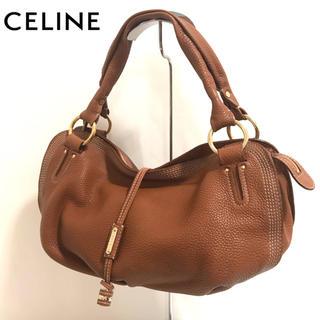 celine - 【正規品】美品✨CELINE/ハンドバッグ/ショルダーバッグ/ブラウン/セリーヌ