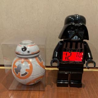 レゴ(Lego)のスターウォーズ 目覚まし 時計 ダースベイダー bb8 レゴ(SF/ファンタジー/ホラー)