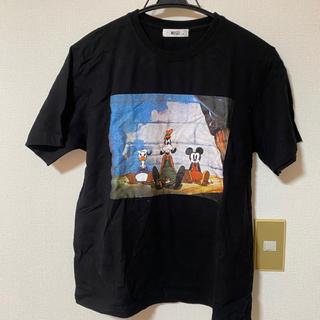 WEGO - WE GO ミッキーの大時計 Tシャツ