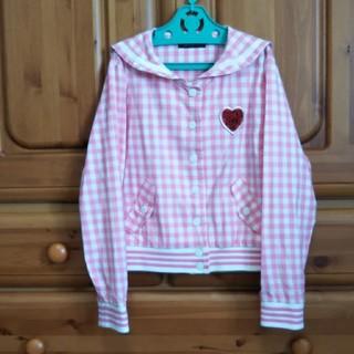 ジェニィ(JENNI)の美品 SISTER JENNI シスタージェニィ 上着 羽織りもの 140(ジャケット/上着)