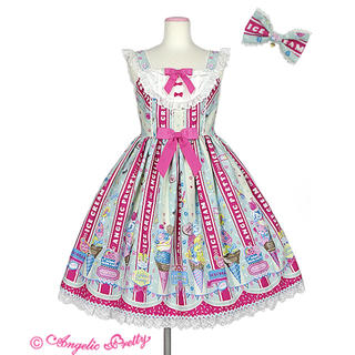 Angelic Pretty - Ice Cream Parlor SpecialジャンパースカートSet AP