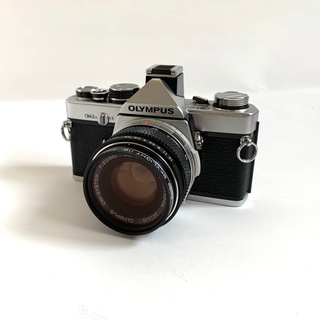 オリンパス(OLYMPUS)のOLYMPUS OM-2N F.ZUIKO AUTO-S 50mm F1.8(フィルムカメラ)