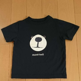 mont bell - mont-bell モンタベア Tシャツ 100㎝