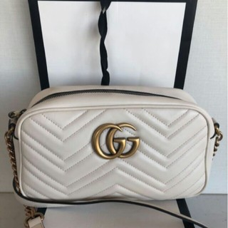 Gucci - グッチ大人気ショルダーバッグ オフホワイト白
