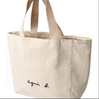 agnes b. - 新品 アニエスベー トートバッグ ホワイト Lサイズ
