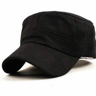 激安!定価3200円!シンプル 帽子 フリーサイズ ブラック(キャップ)