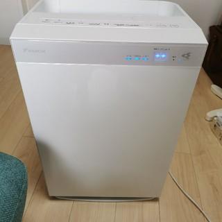 ダイキン(DAIKIN)のダイキン MCK70U-W 加湿空気清浄機 加湿ストリーマ空気清浄機 ホワイト(空気清浄器)