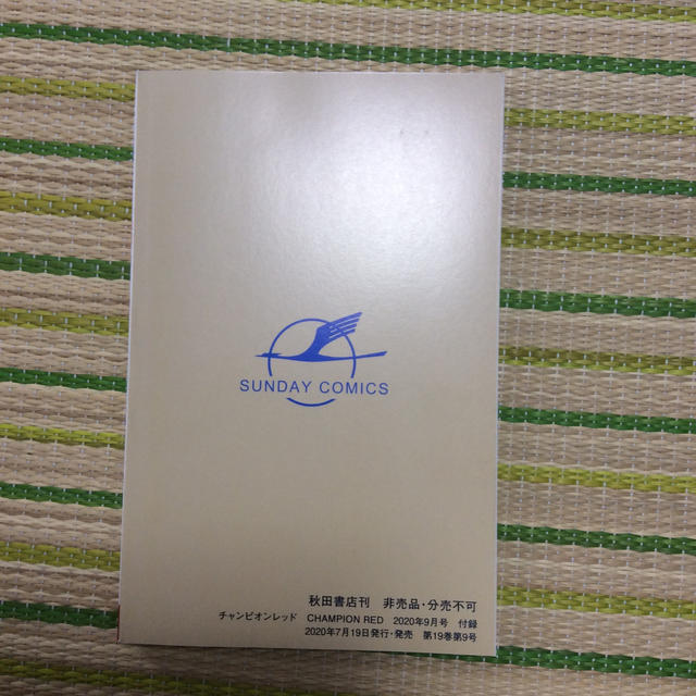 秋田書店(アキタショテン)の特別付録 8マン 桑田二郎  チャンピオンRED 9月号 エンタメ/ホビーのアニメグッズ(その他)の商品写真