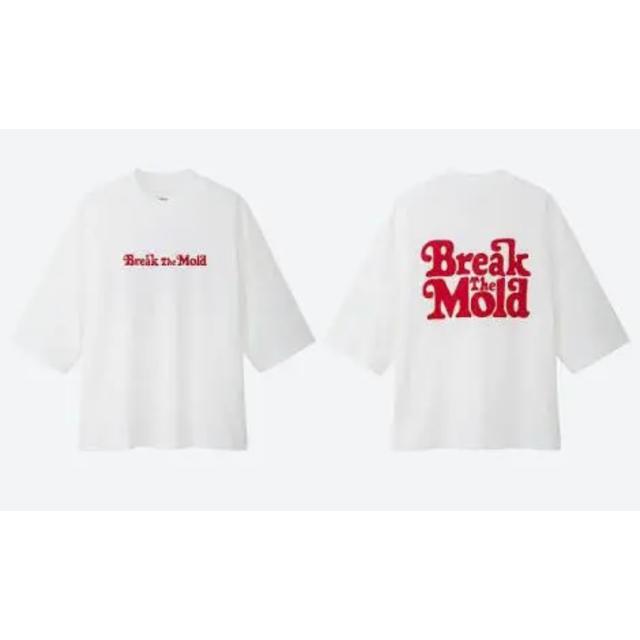 UNIQLO(ユニクロ)のユニクロ VERDY break the mold レディースのトップス(Tシャツ(半袖/袖なし))の商品写真
