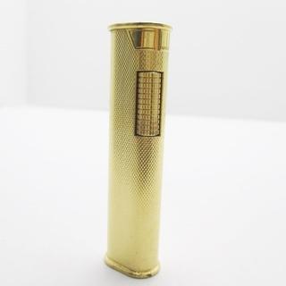 ダンヒル(Dunhill)のダンヒル ライター ゴールド 金属素材(タバコグッズ)