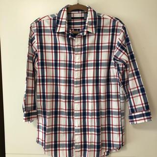 ドアーズ(DOORS / URBAN RESEARCH)のUrban Research Doors 7分丈チェックシャツ(Tシャツ/カットソー(七分/長袖))