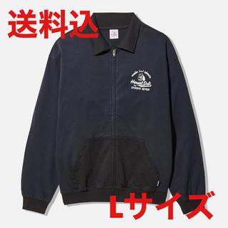 サンダイメジェイソウルブラザーズ(三代目 J Soul Brothers)のgu studio seven sweat blouson navy L(スウェット)