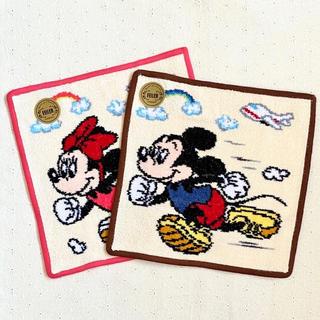 FEILER - 新品☆JAL限定 フェイラー タオルハンカチ ミッキーミニースポーツ 2枚セット