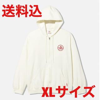 サンダイメジェイソウルブラザーズ(三代目 J Soul Brothers)のgu studio seven sweat zip parka white XL(パーカー)