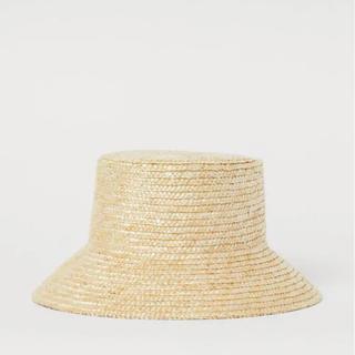 エイチアンドエム(H&M)の今季新作 H&M ペーパーハット 麦わら帽子(麦わら帽子/ストローハット)