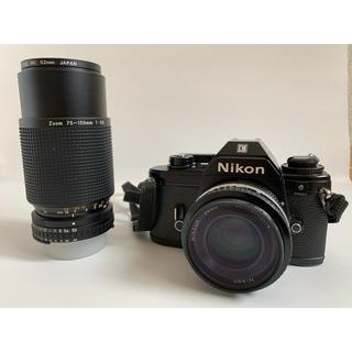 ニコン(Nikon)のNikon EM NIKKOR 50mm F1.8 75-150mm F3.5(フィルムカメラ)