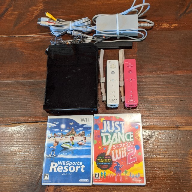 Wii(ウィー)のwii すぐ遊べるセット エンタメ/ホビーのゲームソフト/ゲーム機本体(家庭用ゲーム機本体)の商品写真