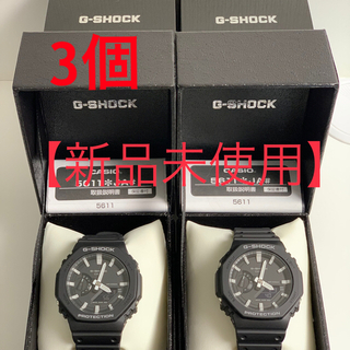 ジーショック(G-SHOCK)の【国内正規品】2本セット【新品未使用】G-SHOCK GA-2100-1AJF (腕時計(デジタル))