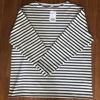 コモリ(COMOLI)のLE バスクシャツ WIDE Lサイズ(Tシャツ/カットソー(七分/長袖))